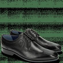 Derby schoenen Rico 4 Rio Perfo Black