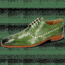 Derby schoenen Lance 66 Galap Harris Green Underlay