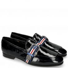 Loafers Clive 10 Soft Patent Oriental Snake Buckle