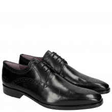 Derby schoenen Lance 4 Crust Black HRS
