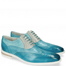 Oxford schoenen Lance 14 Vegas Turquoise Abyss Digital
