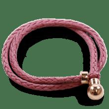 Armbanden Caro 2 Woven Rose Gold Accessory Rose Gold