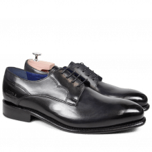 Derby schoenen Charles 10 Crust Black LS