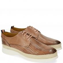Derby schoenen Regine 1 Perfo Square Rose