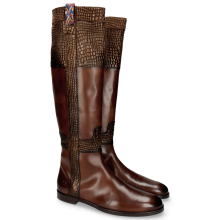 Laarzen Susan 42 Mogano Wellington Gold Brown