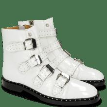 Enkellaarzen Susan 44 Soft Patent White