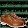 Derby schoenen Eddy 8 Tan Aspen White