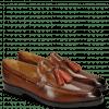 Loafers Leonardo 1 Wood Tassel Winter Orange