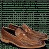 Loafers Eddy 44 Haring Bone Weave Tan Lining Nappa