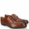 Derby schoenen Greg 4 Venice Crock Tan
