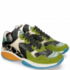Sneakers Flo 1 Suede Pattini New Grass Pine Verde Chiaro
