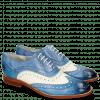 Oxford schoenen Amelie 10 Vegas Neptune Blue White Moroccan Blue