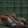 Oxford schoenen Kylian 1 Crock Mogano Ruby Lines Navy