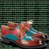 Derby schoenen Betty 3 Rust Abyss Bubblegum