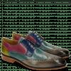 Derby schoenen Jeff 14 Tan Cedro Arancio Bluette Rose