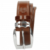 Riemen Larry 1 Mid Brown Sword Buckle