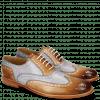 Oxford schoenen Scott 12 Tan Washed Electric Blue
