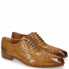 Oxford schoenen Lance 55 Sand Perfo Guana Woven