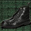 Enkellaarzen Matthew 7 Rio Reptile Black Loop Nylon