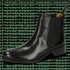 Enkellaarzen Xsara 1 Venice Black Elastic Black Rubber Navy