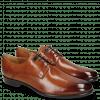 Derby schoenen Clint 1 Tan Deco Pieces Marine