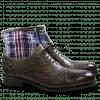Enkellaarzen Patrick 4 Scotch Grain Textile Grey Check HRS