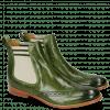 Enkellaarzen Amelie 5 Perfo Ultra Green Elastic 566