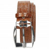 Riemen Larry 1 Crock Tan Sword Buckle