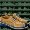 Derby schoenen Amelie 7 Nude Shade Electric Blue Rook D Blue