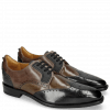 Derby schoenen Dave 2 London Fog Milano Grey Stone