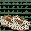 Loafers Scarlett 20 Hairon Wildcat Off White Tassel Nougat