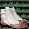 Enkellaarzen Amelie 11 Vegas Purple Tentacle Oxygen White Strap