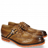 Derby schoenen Eddy 25 Crock Fango Strap Brown Orange