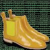 Enkellaarzen Susan 10A Napplack Fluo Perfo Yellow