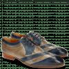 Derby schoenen Ricky 8 Perfo Moroccan Blue Oxygen