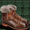 Enkellaarzen Trevor 19 Venice Crock Wood Winter Orange Fur Taupe