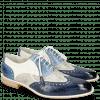 Oxford schoenen Jeff 28 Vegas Navy Digital Moroccan Blue White