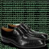 Derby schoenen Greg 4 Venice Crock Black