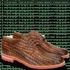 Derby schoenen Brad 7 New Haring Bone Weave Wood Ruby