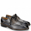 Oxford schoenen Marvin 12 Navy Crock Grigio