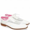 Oxford schoenen Sara 1 Milled White Big Net Fluo Pink