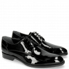 Derby schoenen Kane 2 Patent Black Tongue Ribbon