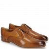 Derby schoenen Martin 1 Berlin Perfo Tan Laces