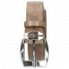 Riemen Larry 1 Light Grey Sword Buckle