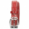 Riemen Linda 1 Crock Ruby Sword Buckle
