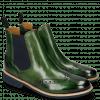 Enkellaarzen Selina 6 Harris Green Elastic Navy