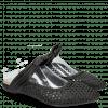 Muiltjes Alexa 15 Woven Black Glove Nappa
