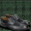 Derby schoenen Victor 2 Rio Navy Suede Pattini Navy