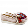 Loafers Bea 4 Elko Rose Tassel Multi XL Malden White