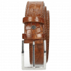 Riemen Larry 1 Crock Tan Classic Buckle